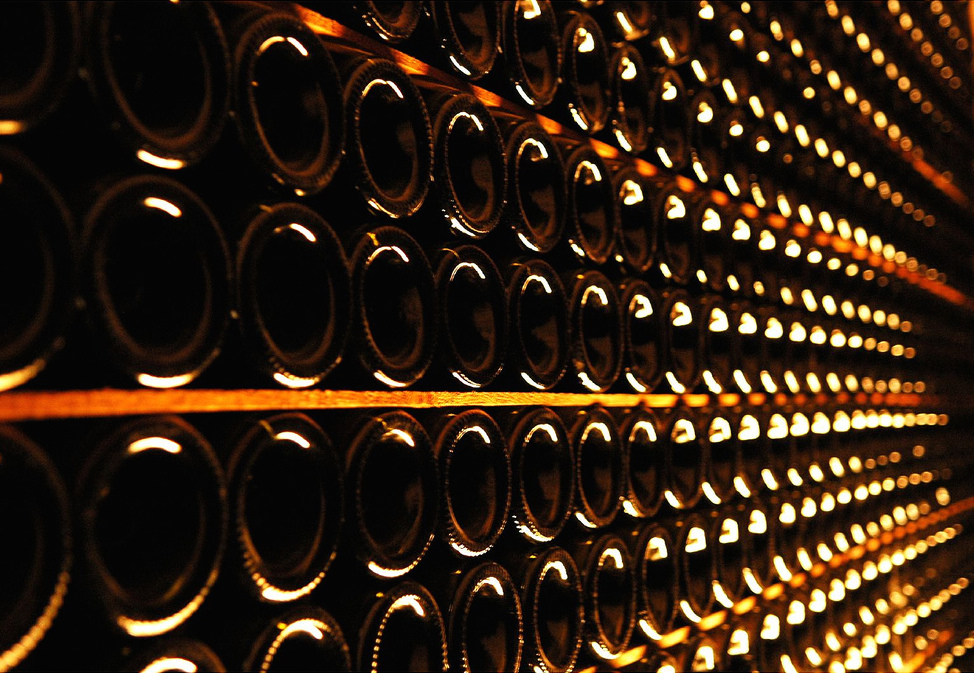 Vineyard bottlewall